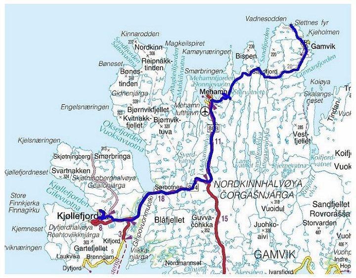 kart over finnsnes Torstein Reiersen   Grense Jakobselv   Finnsnes år 2002 kart over finnsnes
