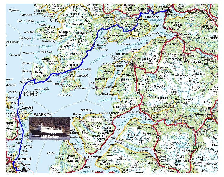finnsnes kart Torstein Reiersen   Havøysund   Svolvær 2003 finnsnes kart