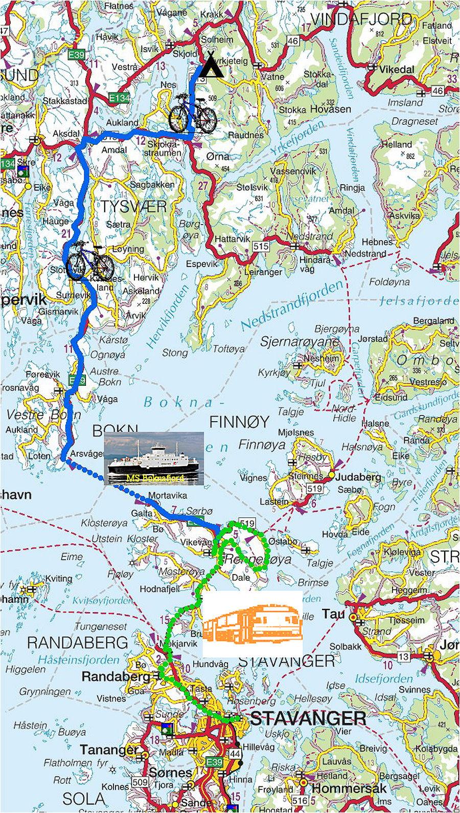 skjold leir kart Torstein Reiersen   Hardanger   Bergen   Stavanger   mai 2006 skjold leir kart