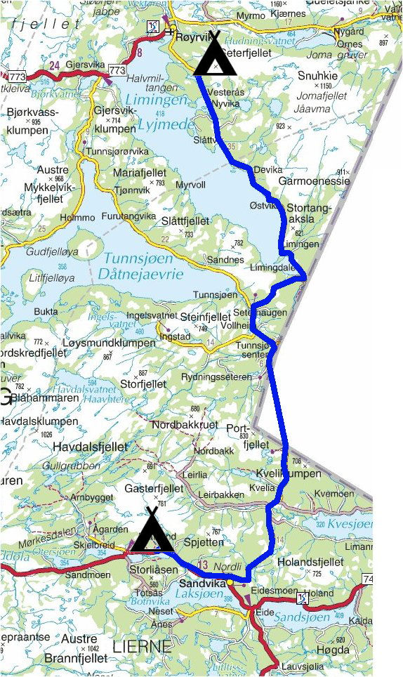 røyrvik kart Torstein Reiersen: Mosjøen   Tromsø   Nesna   Hattfjelldal  røyrvik kart